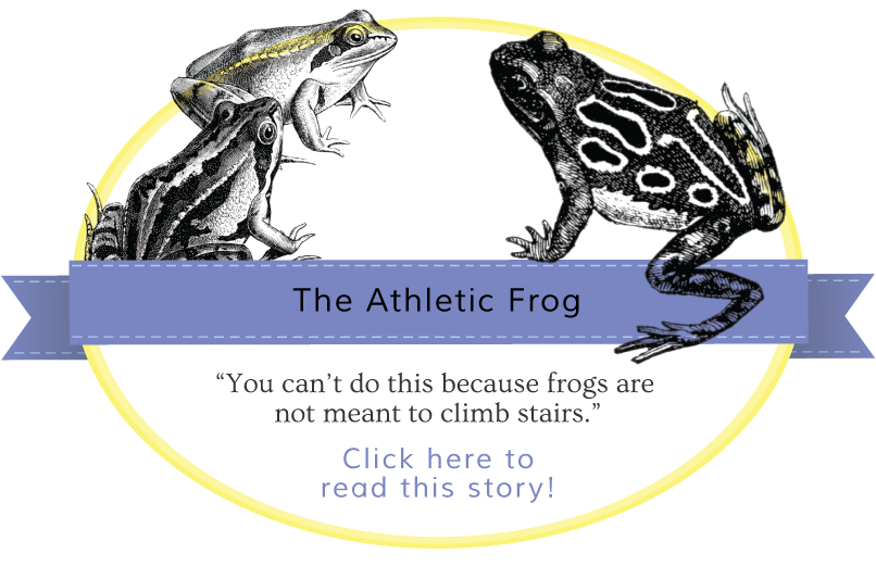 The Athletic Frog Gentle Nudges story banner