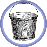bucket badge