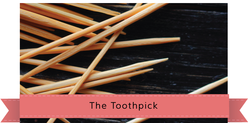 pile of toothpicks, The Toothpick story banner