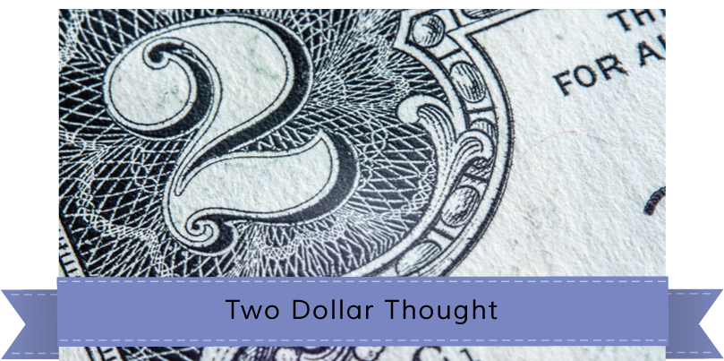 Two Dollar Thought banner