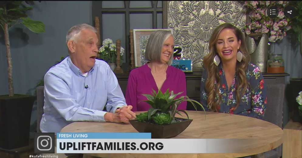 Anne and Cal Cazier appear on KUTV's Fresh Living