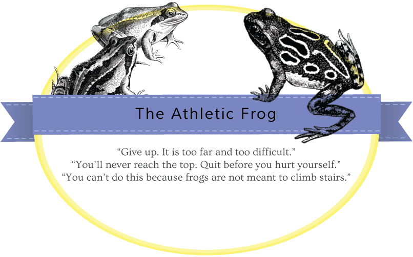 athletic-frog