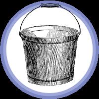 bucket badge