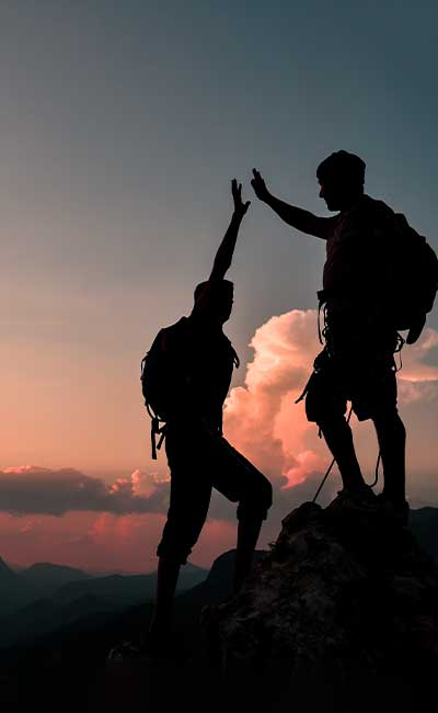 Conquering a Summit Together